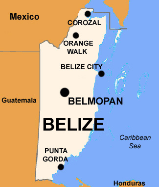 belize-map